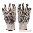Handschuhe mit PVC-Spitzen auf beiden Seiten