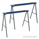 Foldable metal easels, 2 pieces