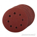 Perforated sanding discs self-adhesive 115 mm, 1