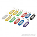 Colored keyrings with identification tag, 1