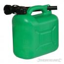 Plastic vat voor brandstof 5 liter