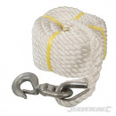 Rope with pulley hook