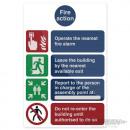 mayorista Seguridad y sistemas de vigilancia: Señal de advertencia - Activar pulsador ...