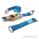 Set of tether straps for steel wheels
