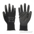 Handschoenen met zwarte palm