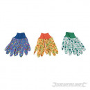 wholesale Garden & DIY store: Gloves for gardening with flower pattern, 3 pi