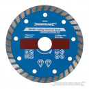 Disc for marble cutting