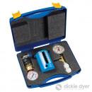 Ensemble de débitmètre et manomètres pour tuyaux s