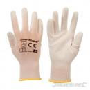 Großhandel Arbeitskleidung: Handschuhe mit weißer Handfläche