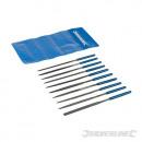 Needle rasps, 10 pieces