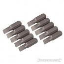 Lapos csúcsok króm-vanádium 25 mm, 10 darab