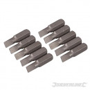 Flachspitzen aus Chrom-Vanadium, 10 Stück