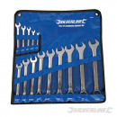 Combination wrenches, 14 pieces