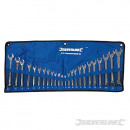 Combination wrenches, 24 pieces
