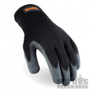 Guantes de látex color negro