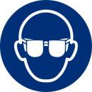Großhandel Accessoires: Obligatorischer kreisförmiger Aufkleber 9cm Gläser