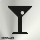 INOX SIGNAL ZONE BAR 120X120mm