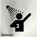 INOX SIGNAL SHOWER 120X120mm