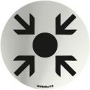 PUNTO REUNION INOX SIGNAAL 70mm DIAMETER
