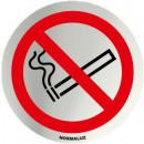 INOX SIGNAL PROHIBITED SMOKING 70mm DIAMETER