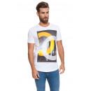 CROSSHATCH - Chicagos T-shirt - Wit