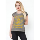 CUPID KILLER - T-shirt Chérie - Gris