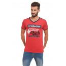Canadian Peak - T-Shirt Janeiro - Rot / Marine