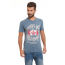 Canadian Peak - Japple T-Shirt - Blau