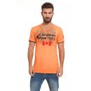 wholesale Shorts: Canadian Peak - Jundai T-Shirt - Orange