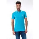 JAVIER LARRAINZAR - Polo Huelva - Turquoise