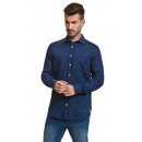 wholesale Shirts & Blouses: JAVIER LARRAINZAR - JLM39 Shirts - Blue navy