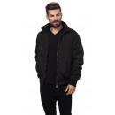 nagyker Ruha és kiegészítők: LONSDALE - Lonsdale kabát - fekete