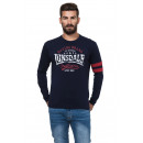 LONSDALE - Camiseta Lonsdale - Real navy