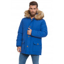 wholesale Coats & Jackets: LONSDALE - Abrigo Lonsdale - Blue denim