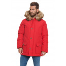 wholesale Coats & Jackets: LONSDALE - Abrigo Lonsdale - Red