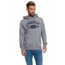 LONSDALE - Lonsdale sweatshirt - Medium gray melan
