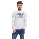 LONSDALE - Lonsdale sweatshirt - Off white gray me