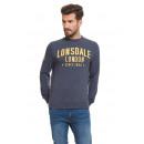 LONSDALE - Sweat Lonsdale - Mélange bleu marine