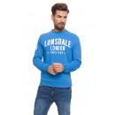 LONSDALE - Lonsdale Sweatshirt - Royal Melange