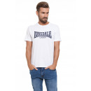 LONSDALE - Lonsdale T-Shirt - White / real navy