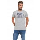 LONSDALE - Camiseta Lonsdale - Light grey melange
