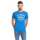 LONSDALE - Camiseta Lonsdale - Royal melange