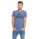 LONSDALE - Lonsdale T-shirt - Light navy melange