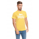 LONSDALE - T-shirt Lonsdale - Jaune chiné