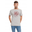 LONSDALE - Lonsdale T-shirt - Light gray melange