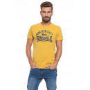LONSDALE - T-shirt Lonsdale - Moutarde