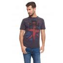 LONSDALE - T-shirt Lonsdale - Bleu foncé