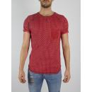 RINGSPUN - T-shirt Mojave - Rouge