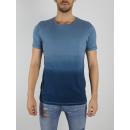 RINGSPUN - T-shirt Gibson - Indigo