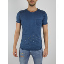 RINGSPUN - Camiseta Namib - indigo